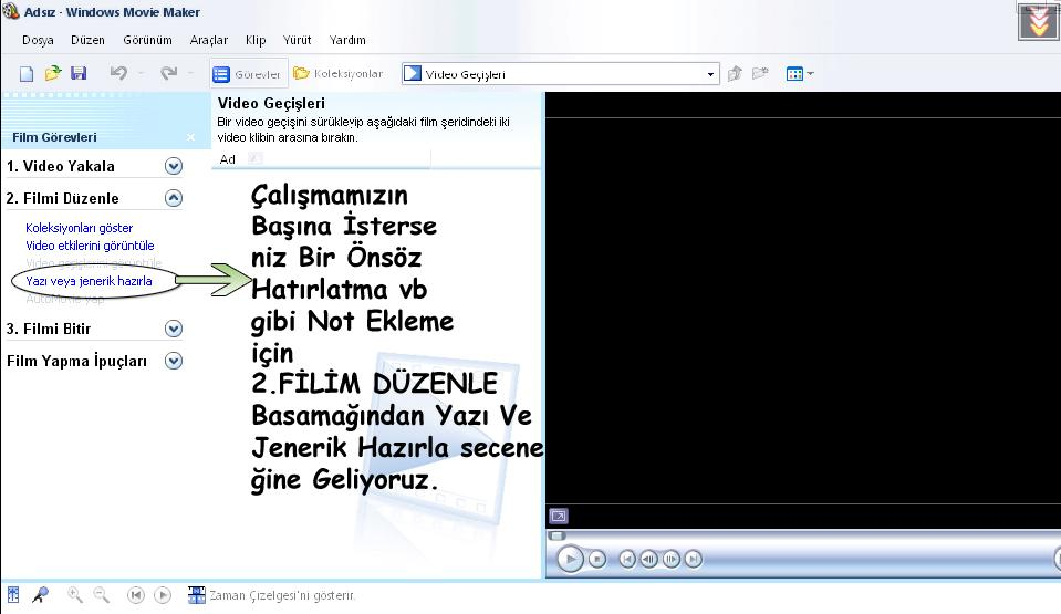 11oj5, Windows Movie Maker İndir Windows Movie Maker Slayt Programı Slayt Nasıl Yapılır movie makerden slayt yapma movie maker resimli anlatım