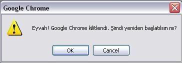 Chrome-Kilitlendi
