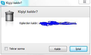 Skypeı tamamen nasıl kaldırabilirim