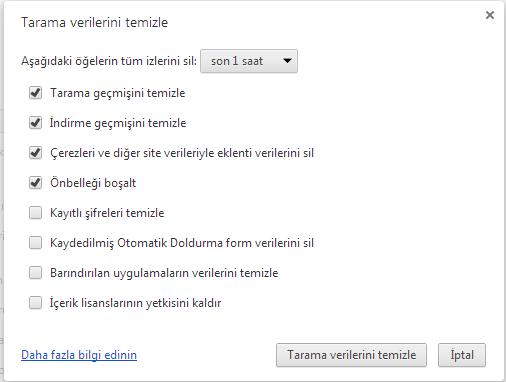 google_chrome_geçmisi_silmek