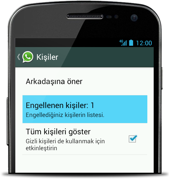 whatsapp_kişi_engelleme