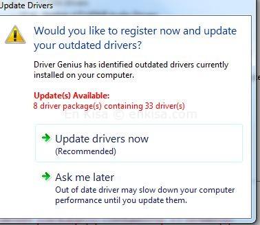 Driver Genius-kurulum