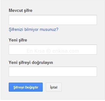 google_gmail_sifresi_degistirme