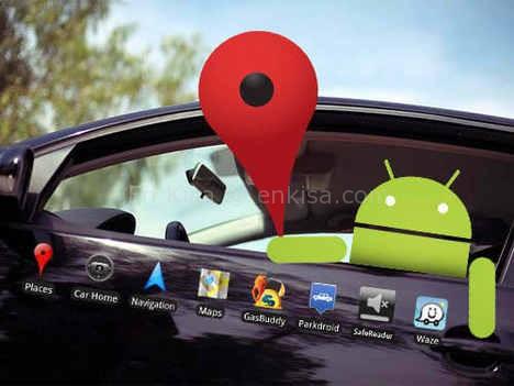 android-araba-google