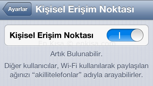 iphone-modem-kullanma