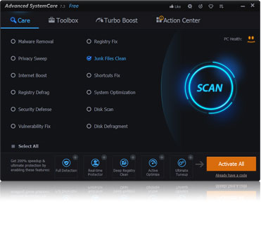 Advanced SystemCare 7.3 Yayında