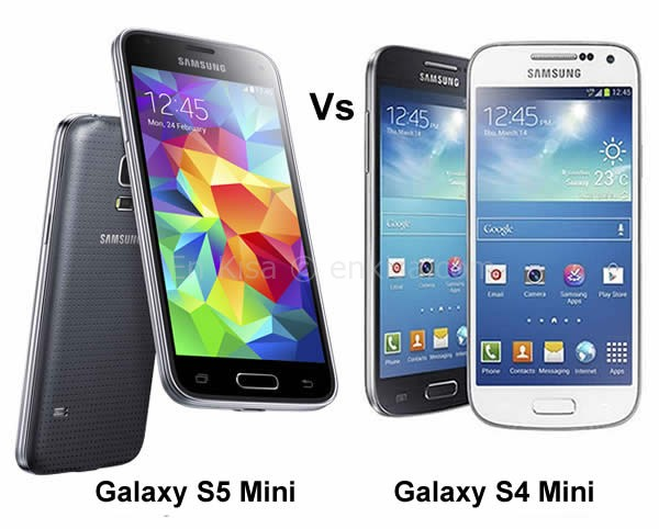 Samsung Galaxy S5 Mini ve Samsung Galaxy S4 Mini Karşılaştırma