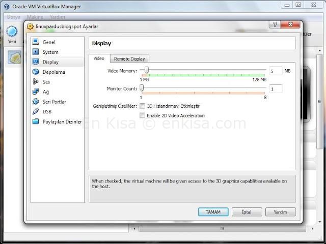 VirtualBox-kurulum