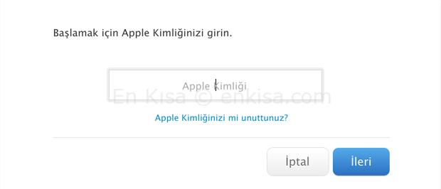 apple-kimligini-unuttum