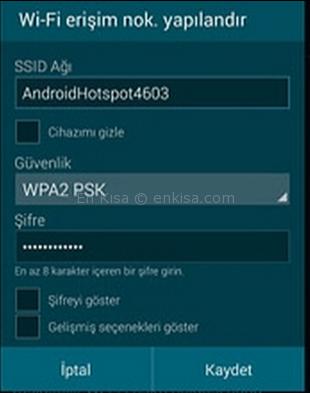 android-dns-degsitirme