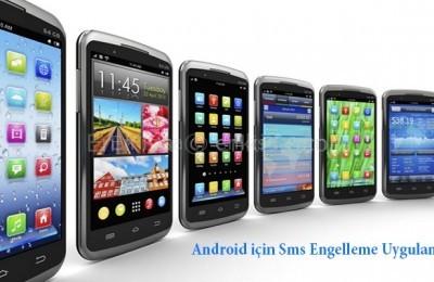 sms-engelleme-uygulamasi