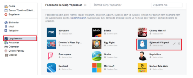 facebook-wikipedia-sayfasi-silmek