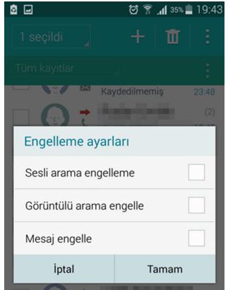 android_mesaj_engelleme