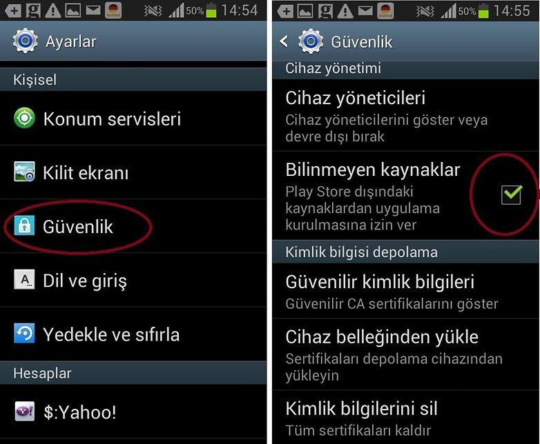 android_harici_uygulama_indirme