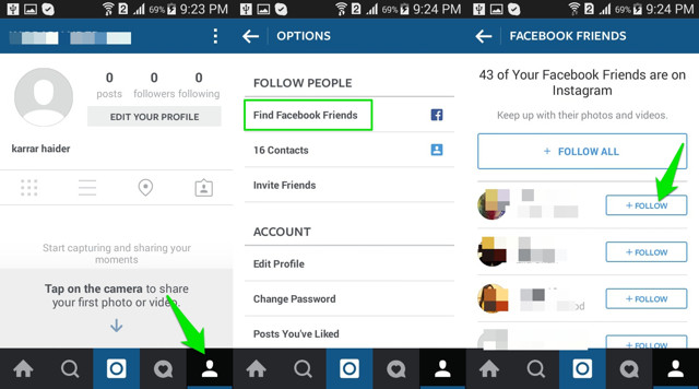 how to add skills to instagram profile