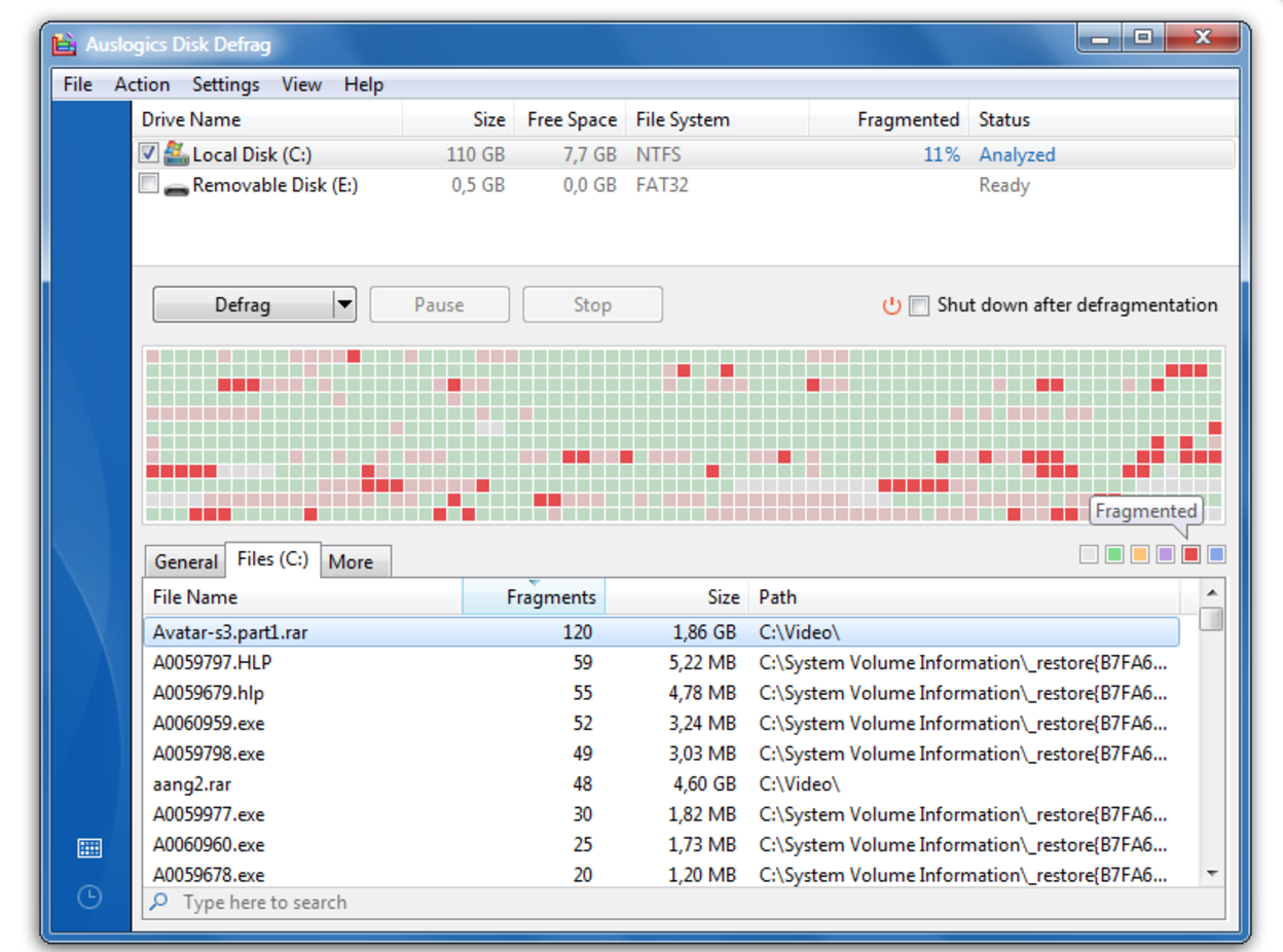 Disk cleaner download filehippo
